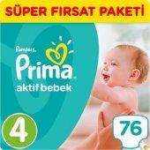 Prima Süper Fırsat Maxi (4) 7 14 Kg 76 Lı