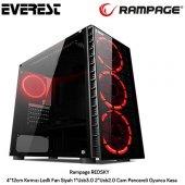 Rampage Redsky Mid Tower Kasa Siyah Psu Yok