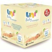 Uni Baby Islak Mendil Yenidoğan 50 Yaprak 12 Paket 600 Yaprak