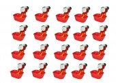 20 Adet Nipel Kap Depo Tavuk Suluğu Dilli Çanak
