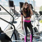 Ps 2056 Bistüerli (Yoga Fitness Pilates Koşu) Sporcu Tayt Takımı