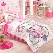Kristal By Taç Cute Girls Ranforce Genç Uyku Seti Takımı Tek Kişilik