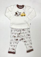 Erkek Bebe Pijama Takımı 03 36 Ay