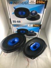 Soundstream 250 Watts Neo Midrange Oval Hoparlör