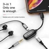 For İphone Kulaklık Ve Şarj Dönüştürücü Kablo Çıkış Çoğaltıcı