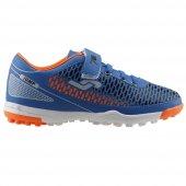 Jump 21982 Erkek Çocuk Halı Saha Futbol Ayakkabısı Saks Mavisi
