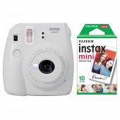 Fujifilm Instax Mini 9 Beyaz Fotoğraf Makinesi & 10lu Film