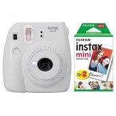 Fujifilm Instax Mini 9 Beyaz Fotoğraf Makinesi 20lu Film