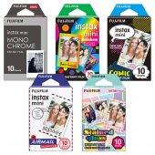 Fujifilm Instax Mini 5li Özel Film Set 50 Poz
