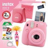 Fujifilm Instax Mini 9 Açık Pembe Fotoğraf Makinesi Ve Hediye Seti