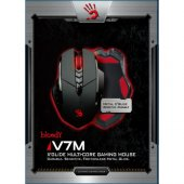 Bloody V7m Siyah Metal Ayak Hd Optik 3200cpı Mouse