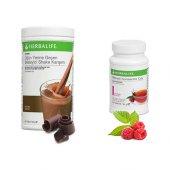 Herbalife Çikolatalı Shake+ahududu Çay