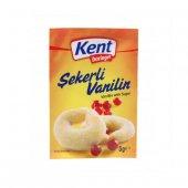 Kent Şekerli Vanilin 5 Gr (36 Adet)