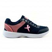 Hüner Tunga F10 Cilt Yazlık Faylon Bağcıklı Kadın Spor Aykkabı