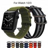 Apple Watch Dokuma Spor 38 40 42 44 Mm Kordon Kayı...