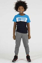 Tommy Life Basic United Saks Mavi Çocuk Tshirt