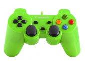Snopy Rampage Sg R602 Ps3 Pc Yeşil Usb 1.8m Gamepa...