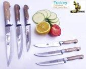 Mutfak Ekmek Sebze Meyve Bıçak Seti 6ad Lazoğlu Sürmene Bilezikli