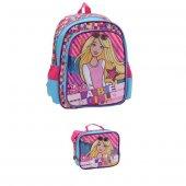 Hakan Çanta Barbie Okul Çantası+barbie Beslenme Çantası