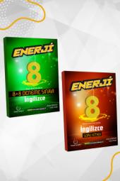 Enerji 8. Sınıf İngilizce Soru Kitabı Ve 8+8 Li Deneme Seti Palme Kitabevi