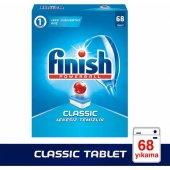 Finish Classic 68 Tablet Bulaşık Makinesi Deterjanı Parlatıcı Hed
