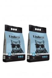 Lindo Cat Sabunlu Kalın Taneli Kedi Kumu 10 Lt X 2 Adet