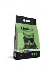 Lindo Cat Topaklaşan Kokusuz İnce Taneli Kedi Kumu 10 Lt