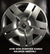 Renault 13 İnç Kırılmaz Jant Kapağı Takımı Kelepçe...
