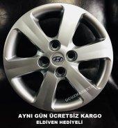 Hyundai 14 İnç Araçlar İçin Kırılmaz Jant Kapağı E...
