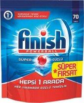 Finish Powerball Bulaşık Makinası Tablet 70 Adet...