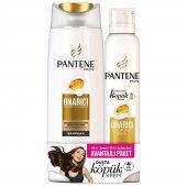 Pantene 360ml Onarıcı Şampuan + 180ml Köpük Saç Ba...