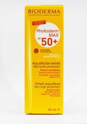 Bioderma Photoderm Max Tinted Aquafluid Golden Spf50+ Uva26 06 21
