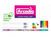Arcadia Orijinal Tropical Lamp T8 Akvaryum Floresan 36w, 120 Cm