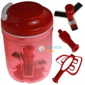 Tupperware Süper Şef 2 (Kırmızı)