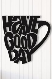 Angemiel Home İyi Bir Gün İçin Bir Kahve Duvar Tablosu Ev Ve Ofis Tablo