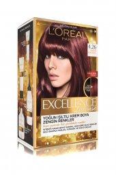 Loreal Excellence Intense Saç Boyası 4,26 Yoğun Mor Kızıl