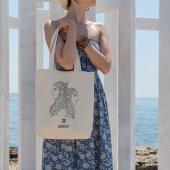 Angemiel Bag Gemini İkizler Burcu Alışveriş Plaj B...