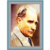 50 Cm X 70 Cm Tablo Halı Mustafa Kemal Atatürk