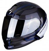 Scorpion Exo 510 Air Frame Kapalı Motosiklet Kaskı (Siyah Mavi)