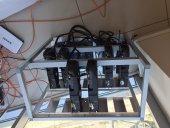 Aliminyum Mining Ethereum 12 Ekran Kartlı Rig Kasa