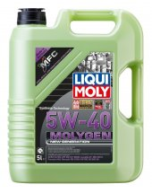 Liqui Moly Molygen 5w40 Yeşil Motor Yağı 5lt 8536 2019 Üretim