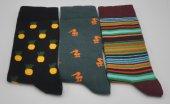 Kişiye Özel Desenli 3lü Kombin Erkek Çorap (Özel Üretim) #4