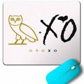 Baykuş Ovoxo Owl Gang Hıp Hop Musıc Mouse Pad