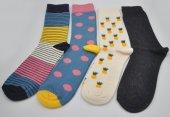 Kişiye Özel Desenli 4lü Kombin Erkek Çorap (Özel Üretim) #9