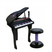 37 Tuşlu Kuyruklu Elektronik Piyano Siyah