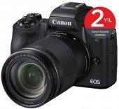 Canon Eos M50 + 18 150mm Lens Aynasız Fotoğraf Makinesi