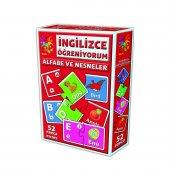 Eğitici Oyuncak İngilizce Alfabe Ve Nesneler 52 Parça