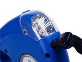 ışıklı Ve Kaka Poşetlikli Gezdirme Tasması 4,5 Metre Asorti