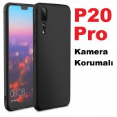 Huawei P20 Pro Premium Kaliteli Kamera Korumalı So...