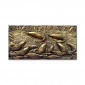 Balıklar Kanvas Tablosu 40 Cm X 80 Cm